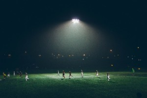 floodlight-over-stadium-with-soccer-match